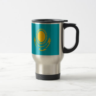 Low Cost! Kazakhstan Flag Travel Mug