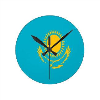 Low Cost! Kazakhstan Flag Wall Clocks