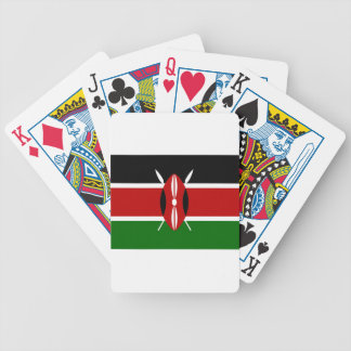 Low Cost! Kenya Flag Bicycle Playing Cards