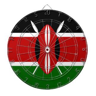 Low Cost! Kenya Flag Dartboard