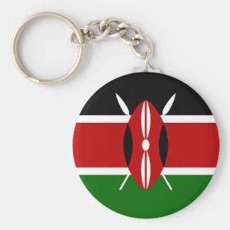 Low Cost! Kenya Flag Keychain