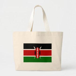 Low Cost! Kenya Flag Large Tote Bag
