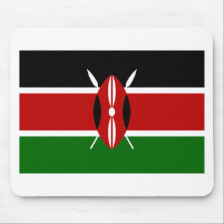 Low Cost! Kenya Flag Mouse Pad