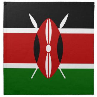 Low Cost! Kenya Flag Napkin