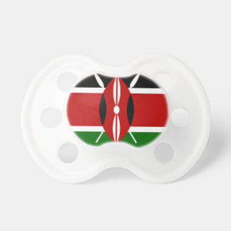 Low Cost! Kenya Flag Pacifier
