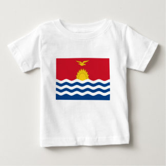 Low Cost! Kiribati Flag Baby T-Shirt