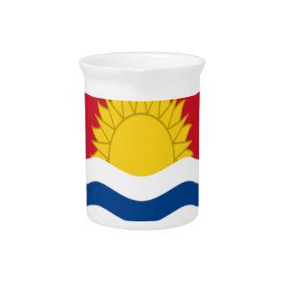 Low Cost! Kiribati Flag Beverage Pitchers