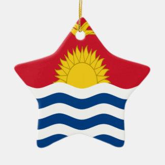 Low Cost! Kiribati Flag Ceramic Ornament