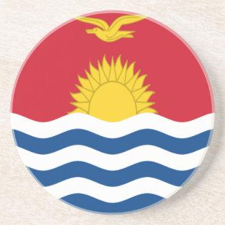Low Cost! Kiribati Flag Coaster