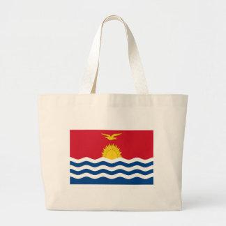 Low Cost! Kiribati Flag Large Tote Bag