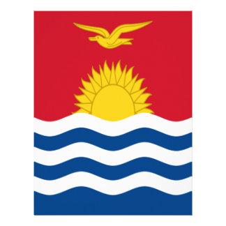 Low Cost! Kiribati Flag Letterhead
