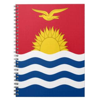 Low Cost! Kiribati Flag Notebook