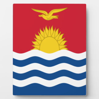 Low Cost! Kiribati Flag Plaque