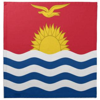 Low Cost! Kiribati Flag Printed Napkins