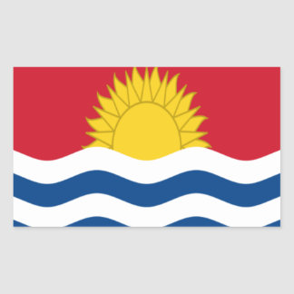 Low Cost! Kiribati Flag Sticker