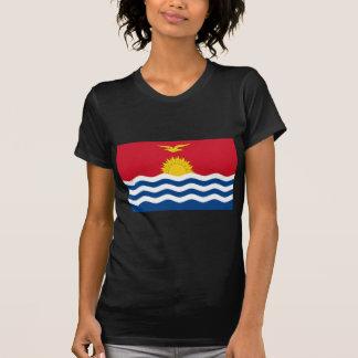 Low Cost! Kiribati Flag T-Shirt