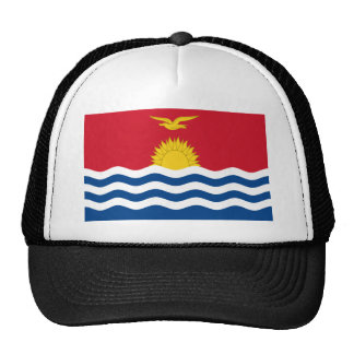 Low Cost! Kiribati Flag Trucker Hat