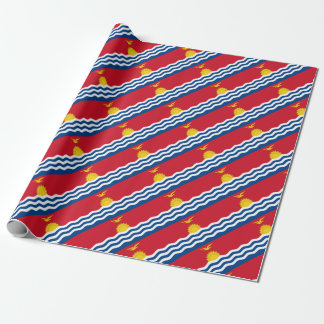 Low Cost! Kiribati Flag Wrapping Paper