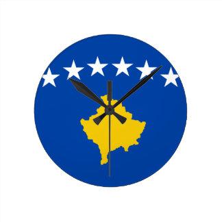 Low Cost! Kosovo Flag Clocks