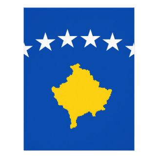 Low Cost! Kosovo Flag Letterhead