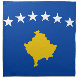 Low Cost! Kosovo Flag Napkin