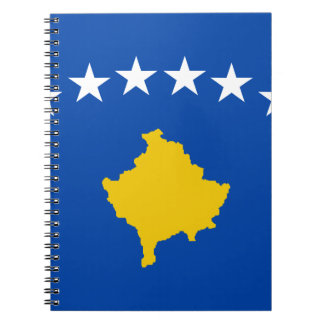 Low Cost! Kosovo Flag Notebook