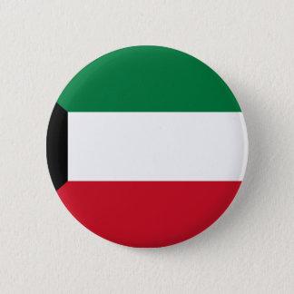 Low Cost! Kuwait Flag 2 Inch Round Button