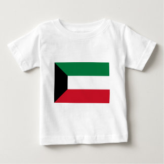 Low Cost! Kuwait Flag Baby T-Shirt