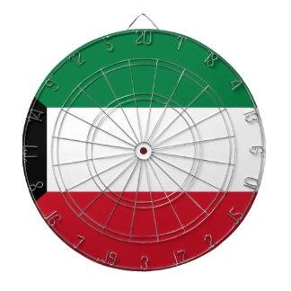 Low Cost! Kuwait Flag Dartboard