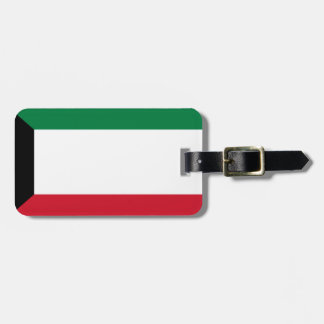 Low Cost! Kuwait Flag Luggage Tag