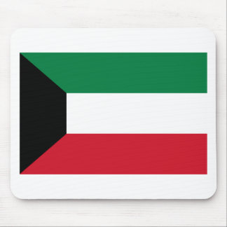 Low Cost! Kuwait Flag Mouse Pad