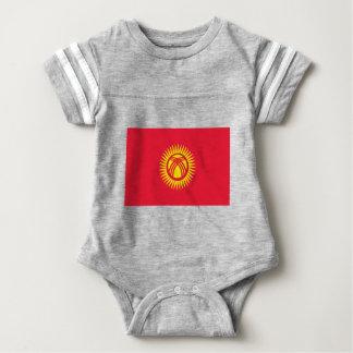 Low Cost! Kyrgyzstan Flag Baby Bodysuit