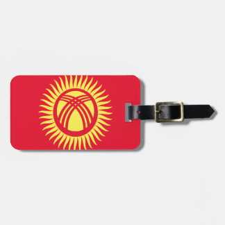 Low Cost! Kyrgyzstan Flag Luggage Tag