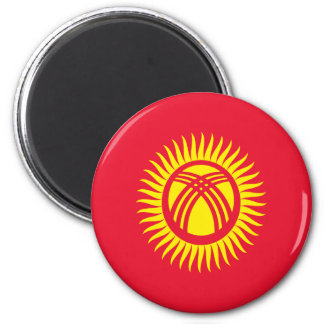 Low Cost! Kyrgyzstan Flag Magnet