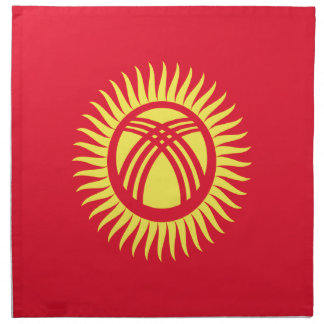 Low Cost! Kyrgyzstan Flag Napkin