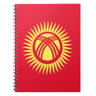 Low Cost! Kyrgyzstan Flag Notebooks