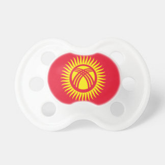 Low Cost! Kyrgyzstan Flag Pacifier