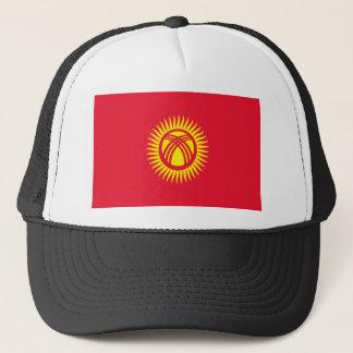 Low Cost! Kyrgyzstan Flag Trucker Hat