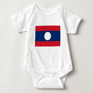 Low Cost! Laos Flag Baby Bodysuit