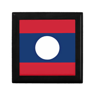 Low Cost! Laos Flag Gift Box