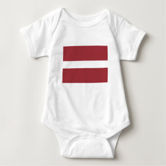 Low Cost! Latvia Flag Baby Bodysuit