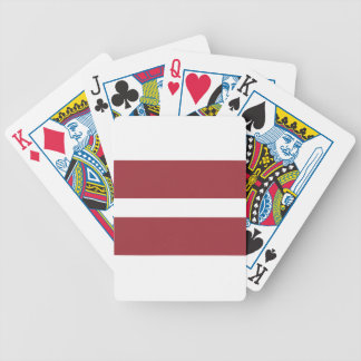 Low Cost! Latvia Flag Bicycle Playing Cards