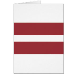 Low Cost! Latvia Flag Card