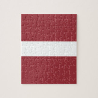 Low Cost! Latvia Flag Jigsaw Puzzle
