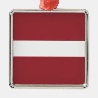 Low Cost! Latvia Flag Metal Ornament