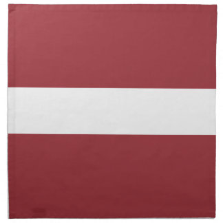 Low Cost! Latvia Flag Napkin