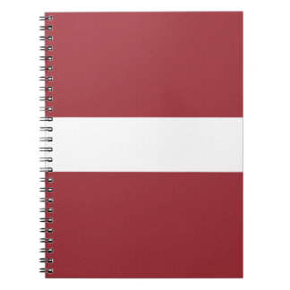 Low Cost! Latvia Flag Notebooks