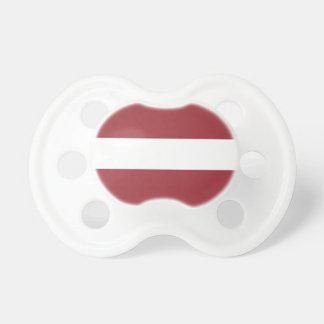 Low Cost! Latvia Flag Pacifier