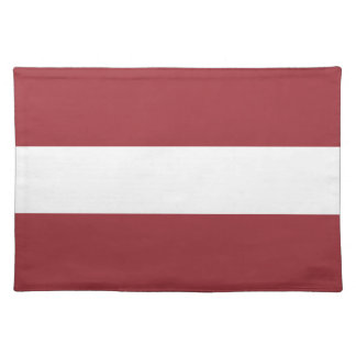 Low Cost! Latvia Flag Placemat
