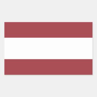 Low Cost! Latvia Flag Sticker
